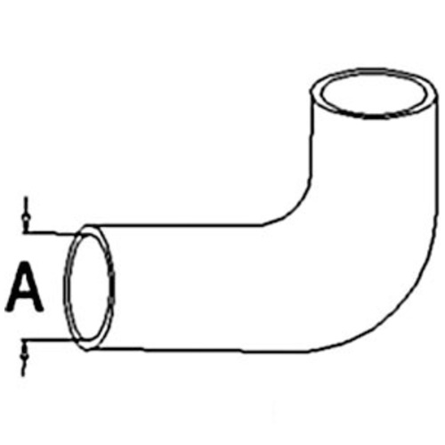 A&I Products 100023A Radiator Upper Hose - image 1