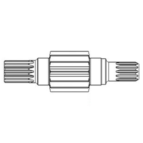 A&I Products 104676C1 Left Bull Pinion Shaft - image 1
