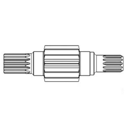 A&I Products 104680C1 Right Bull Pinion Shaft - image 1