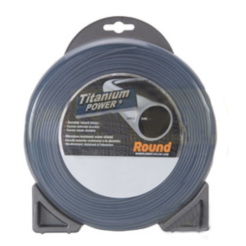 "Sunbelt Outdoor Products B131095 Titanium Power Trimmer Line, .095"" round - image 1"