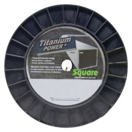 Sunbelt Outdoor Products B143130 Square Titan 3# Spool Trimmer Line .130 - image 1