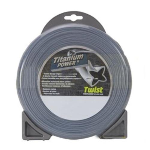 "Sunbelt Outdoor Products B151095 Titanium Power Trimmer Line, .095"" twist - image 1"