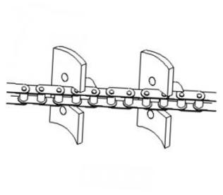 Chain Clean Grain Elevator Part # 71393534 | Replacement Parts