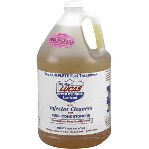 Lucas Upper Cylinder Lubricant & Injector Cleaner Fuel Treatment gallon 10013