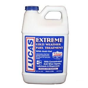 Lucas Extreme Cold Weather Fuel Treatment 1/2 gallon 10021