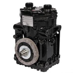 Compressor Re-mfg York/Tecumseh w/o Clutch T-210-R Model Tube O-Ring hd RH suction 1026088M91-R