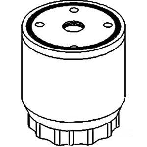 baldwin fuel filter housing