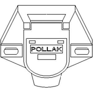 Socket Implement Lights 7 Pin North America 121645C1