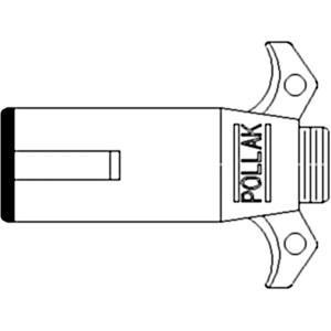 Plug Implement Lights 7 Pin North America 121646C1