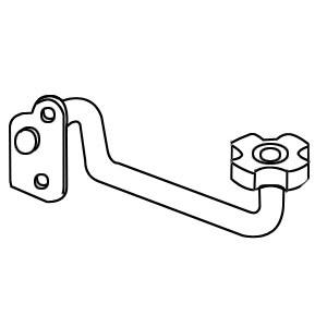 Handle w/ Pin For 15A151 152 158L 158S 171 & 175. 15A197