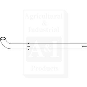 Exhaust Pipe 17381-12410