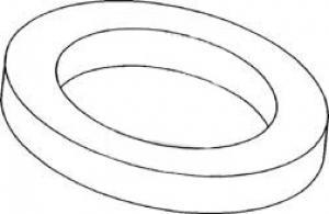 Seal Steering Box Upper & Lower Arm Shaft 1893623M1