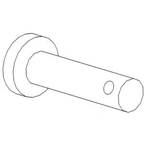 Pin Clevis 195239M1