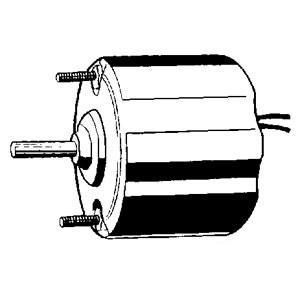 "Blower Motor 12volt 5/16"" X 2 5/8"" Shaft CW Rotation 24049"