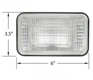 Replacement Sealed Beam 12 Volt 28A724