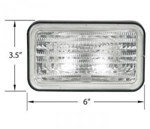 Replacement Sealed Beam 12 Volt 28A728