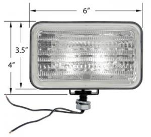 Lamp Assembly Halogen Trapezoid 28A763