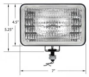 Lamp Assembly Halogen Trapezoid 28A910