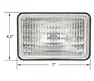 Replacement Sealed Beam 12 Volt 28A911