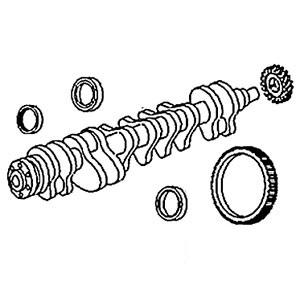 Seal Crankshaft Front 3904353