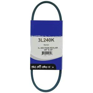 """Kevlar Blue V-Belt 3/8"""" X 24""""  3L240K"""