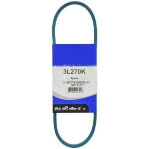 """Kevlar Blue V-Belt 3/8"""" X 27""""  3L270K"""