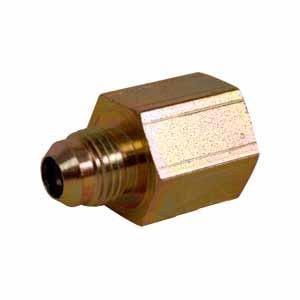Straight Solid Male JIC X Female NPT Adapter 43A22