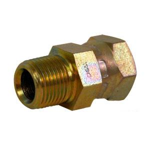 Straight Female X Male NPT Swivel Adapter 43D38