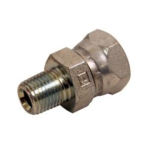 Straight Female X Male NPT Swivel Adapter 43D53