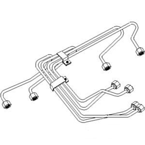 Injection Line Set #4 Cylinder 4797522