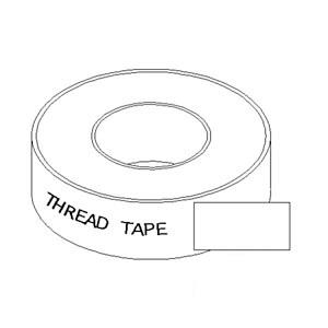 "Thread Sealant Tape 1/2""x520"" 47V2193"
