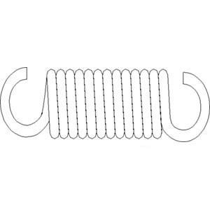 Spring Clutch/Brake Pedal 5119832