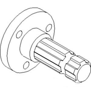 Shaft PTO 540 RPM 5185602