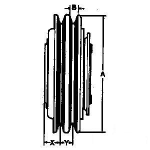 Clutch - Compressor 600-393