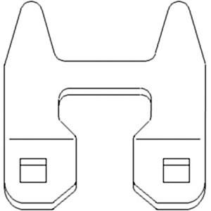 Windrower hesston parts farmpartsstore low plate 2 prong 6586630 ccuart Images