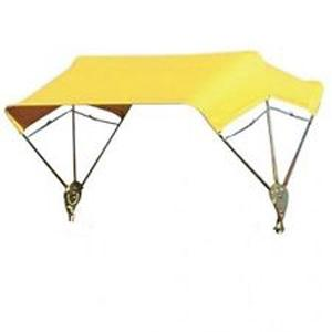 """Buggy Top 3 Bow 48"""" Yellow 6A232"""