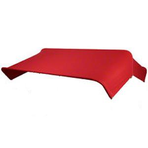 """Replacement Cover 3 Bow 48"""" Red canvas 6A234"""