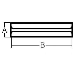 Roll Pin 8 MM x 55 MM 2 pack 70030-35245