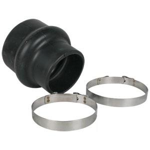 "Centri Rubber Hump Hose Reducer w/2 Clamps 5""-4"" 955040"