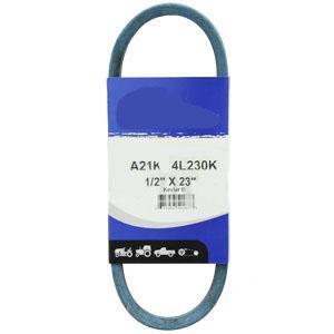"""Kevlar Blue V-Belt 1/2"""" X 23""""  A21K"""