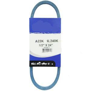 """Kevlar Blue V-Belt 1/2"""" X 24""""  A22K"""