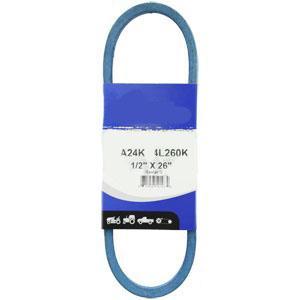 """Kevlar Blue V-Belt 1/2"""" X 26""""  A24K"""