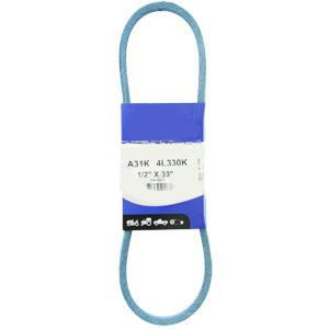 "Kevlar Blue V-Belt 1/2"" X 33""  A31K"