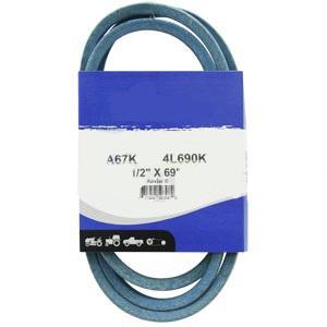 """Kevlar Blue V-Belt 1/2"""" X 69""""  A67K"""