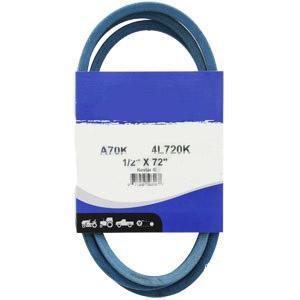 """Kevlar Blue V-Belt 1/2"""" X 72""""  A70K"""