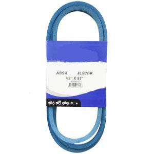 "Kevlar Blue V-Belt 1/2"" X 87""  A85K"