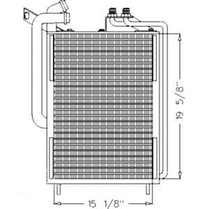 Oil Cooler/Condenser AL119566