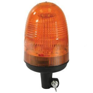 Beacon 80 LED AMBER Pipe Type Flexible Rubber Base BLA9810