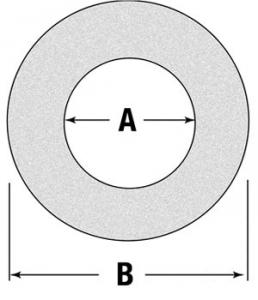 "Friction Disc/Clutch Lining 4.8"" O.D. 2.64"" I.D. BP247006151"