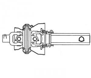 Constant Velocity Tractor Half Shaft BPCV8TR121001